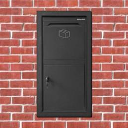 Loxit Pakketbrievenbus - Inbouwmontahe - Logixbox Front Box